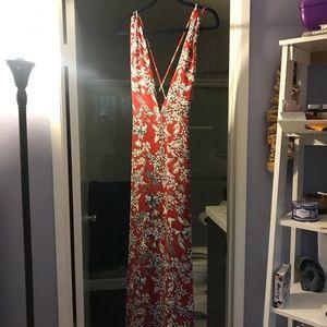 Lulus maxi dress NWT